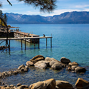 Lake Tahoe, Zephyr Cove, Beach, Dock, Rocks, Water, Mens Retreat, 2016