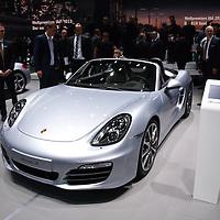 Porsche Boxster S at the IAA 2013, Frankfurt, Germany