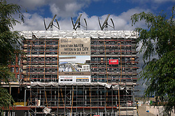 GERMANY HAMBURG 29JUN13 - Greenpeace HQ building site in Hamburg Hafen-City.<br /> <br /> HafenCity Hamburg is a project of city-planning where the old port warehouses of Hamburg are being replaced with offices, hotels, shops, official buildings, and residential areas. The project is the largest rebuilding project in Europe in scope of landmass (approximately 2,2 km²).<br /> <br /> <br /> jre/Photo by Jiri Rezac<br /> <br /> <br /> © Jiri Rezac 2013