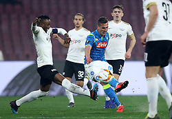 February 21, 2019 - Naples, Italy - SSC Napoli v FC Zurich - UEFA Europa League Round of 32..Arkadiusz Milik of Napoli at San Paolo Stadium in Naples, Italy on February 21, 2019. (Credit Image: © Matteo Ciambelli/NurPhoto via ZUMA Press)