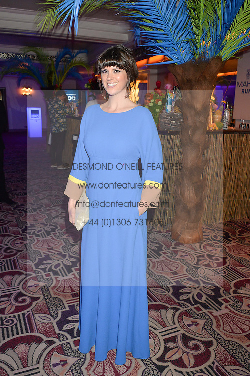 DAWN O'PORTER at the WGSN Global Fashion Awards 2015 held at The Park Lane Hotel, Piccadilly, London on 14th May 2015.