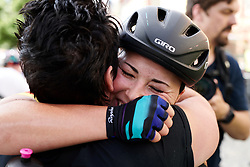 Lisa Klein (GER) celebrates with her Mum at Lotto Thüringen Ladies Tour 2019 - Stage 4, a 114.8 km road race in Gotha, Germany on May 31, 2019. Photo by Sean Robinson/velofocus.com