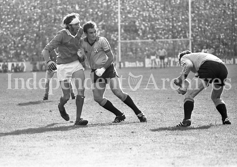All Ireland Senior Football Championship 1977 Dublin v Armagh. (Part of the Independent Newspaper Ireland/NLI collection.)