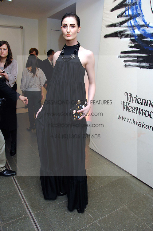 ERIN O'CONNOR at a party to celebrate the publication of Vivienne Westwood's Opus held at The Serpentine Gallery, Kensington Gardens, London W2 on 12th February 2008.<br /><br />NON EXCLUSIVE - WORLD RIGHTS