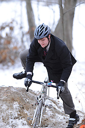 Cyclocross Race at Riverpoint Park in West Warwick, RI on January 11, 2015.