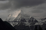 Mt Robson, British Columbia - the tallest mountain in the Canadian Rockies