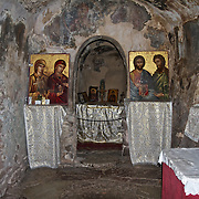 The Church of Agia Theodora in Vastas, Greece