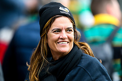 Wasps fans at Northampton Saints - Mandatory by-line: Robbie Stephenson/JMP - 28/09/2019 - RUGBY - Franklin's Gardens - Northampton, England - Northampton Saints v Wasps - Premiership Rugby Cup