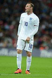 England's Wayne Rooney (Manchester United) - Photo mandatory by-line: Alex James/JMP - Mobile: 07966 386802 - 3/09/14 - SPORT - FOOTBALL - London - Wembley Stadium - England v Norway - International Friendly