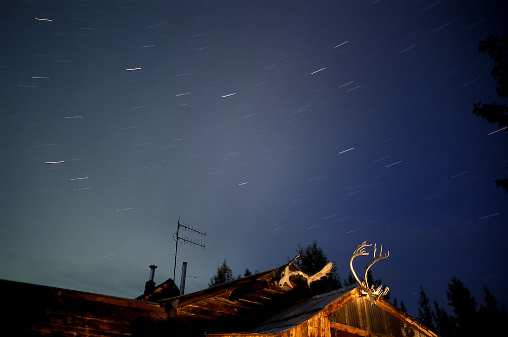 Aurora Borealis over home in North America