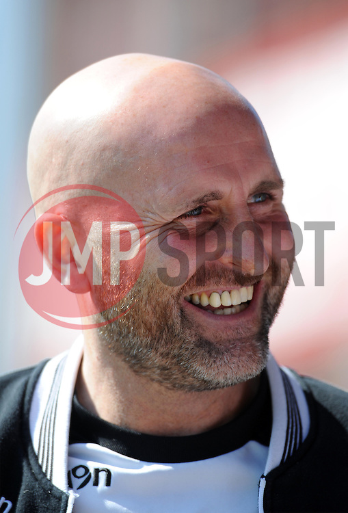 Newport County Manager, Jimmy Dack - Photo mandatory by-line: Harry Trump/JMP - Mobile: 07966 386802 - 06/04/15 - SPORT - FOOTBALL - Sky Bet League Two - Exeter City v Newport County - St James Park, Exeter, England.