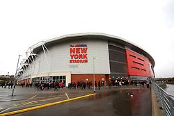 A general view of the New York Stadium, home of Rotherham United  - Mandatory byline: Matt McNulty/JMP - 28/11/2015 - Football - New York Stadium - Rotherham, England - Rotherham United v Bristol City - Sky Bet Championship