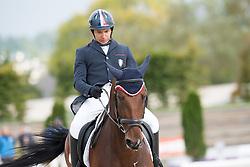 Letartre Jose, (FRA), Ronan Keating*Ene-HN<br /> Grade III Team Test<br /> Para-Dressage FEI European Championships Deauville 2015<br /> © Hippo Foto - Jon Stroud<br /> 18/09/15