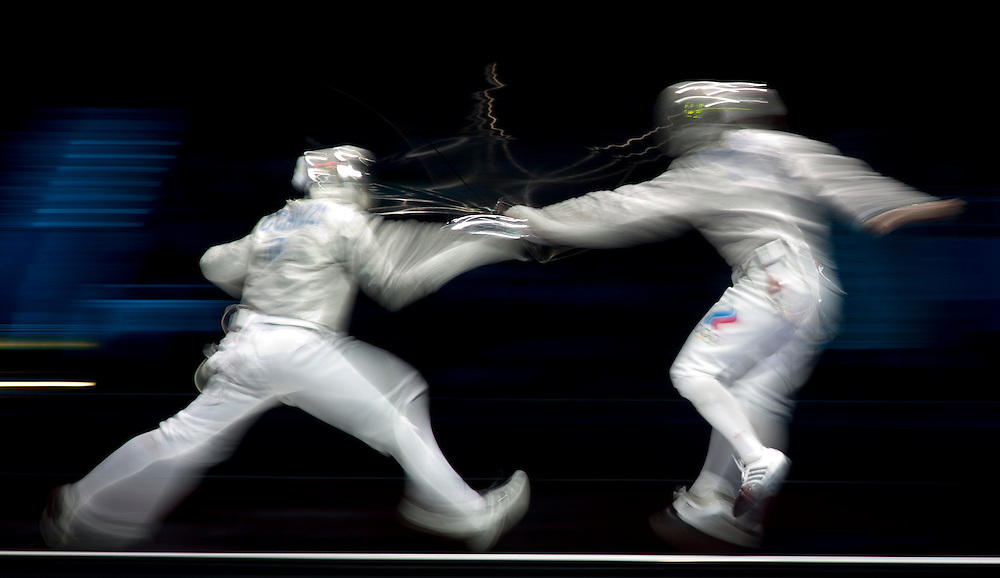 Bronze medal match between Italy and Rusia, during the men's Team Sabre at the Excell, in London, during the London 2012 Olympic Games. BOGDAN MARAN / MEDIAFAX FOTO for BPA