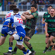 Action during the final of the Jubilee Cup Premier rugby union game played between Norths  v Wainuiomata played at  Petone , Wellington, New Zealand, on 27 July 2019.   Final score 22 v 16 to Northern United