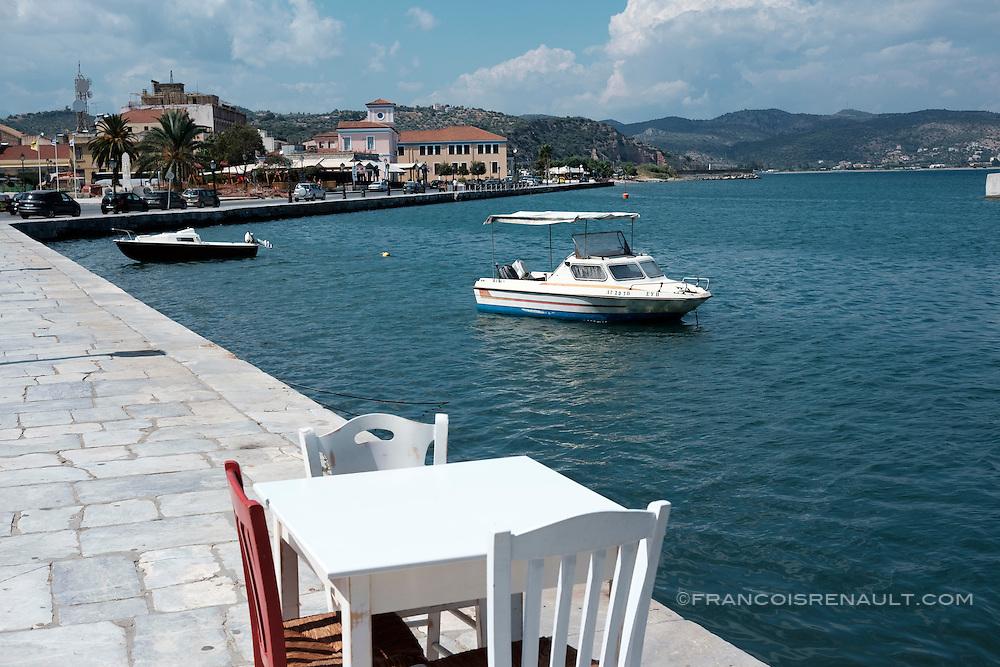 Gythio, Péloponnèse, Grèce.