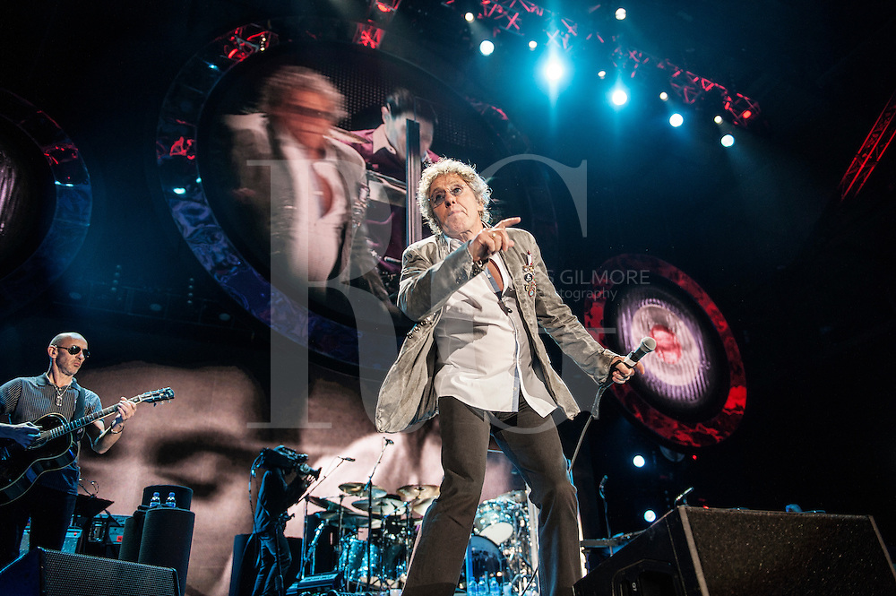 Glasgow,UNITED KINGDOM -JUNE 12th: Roger Daltrey of The Who perform at The SECC in Glasgow,Scotland, 201. (Photo byRoss Gilmore)