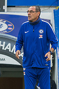 Maurizio Sarri Head Coach of Chelsea FC during the Premier League match between Chelsea and Crystal Palace at Stamford Bridge, London, England on 4 November 2018.