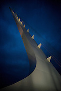 Sundial Bridge at Dusk
