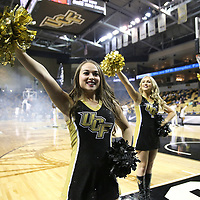 ORLANDO, FL - NOVEMBER 15: UCF dancers perform during a NCAA basketball game against the Gardner-Webb Runnin Bulldogs at the CFE Arena on November 15, 2017 in Orlando, Florida. (Photo by Alex Menendez/Getty Images) *** Local Caption ***
