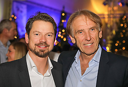22.01.2018, Planai, Schladming, AUT, FIS Weltcup Ski Alpin, Slalom, Herren, Charity Night, im Bild v. l. Christian Höflehner, Atomic-Rennchef, Wolfgang Mitter // during the Charity Night prior to the Schladming FIS Ski Alpine World Cup 2018 at the Planai in Schladming, Austria on 2018/01/22. EXPA Pictures © 2018, PhotoCredit: EXPA/ Martin Huber