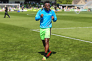Forest Green Rovers Drissa Traoré(4) during the Vanarama National League Play Off second leg match between Forest Green Rovers and Dagenham and Redbridge at the New Lawn, Forest Green, United Kingdom on 7 May 2017. Photo by Shane Healey.