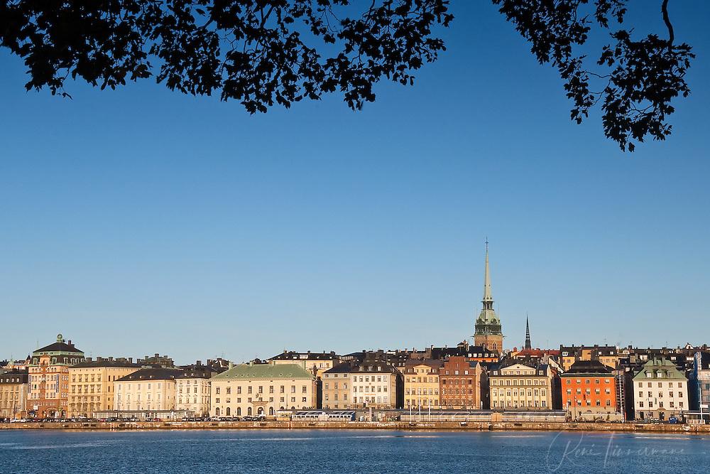 Gamla Stan (Old City) of Stockholm, Sweden