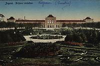 Zagreb : Državni kolodvor. <br /> <br /> ImpresumBp. [Budimpešta] : W. L., [između 1917 i 1924].<br /> Materijalni opis1 razglednica : tisak ; 8,9 x 13,9 cm.<br /> Mjesto izdavanjaBudimpešta<br /> Vrstavizualna građa • razglednice<br /> ZbirkaZbirka razglednica • Grafička zbirka NSK<br /> Formatimage/jpeg<br /> PredmetZagreb –– Trg kralja Tomislava<br /> SignaturaRZG-TOM-40<br /> Obuhvat(vremenski)20. stoljeće<br /> NapomenaRazglednica nije putovala.<br /> PravaJavno dobro<br /> Identifikatori000953682<br /> NBN.HRNBN: urn:nbn:hr:238:509702 <br /> <br /> Izvor: Digitalne zbirke Nacionalne i sveučilišne knjižnice u Zagrebu