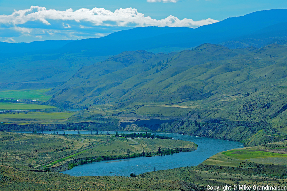 South Thompson River<br /> West of Kamloops<br /> British Columbia<br /> Canada