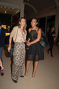 CATALINA SWINBURN; PRINCESS ALIA AL-SENUSSI, Masterpiece London preview. Chelsea. London. 24 June 2015