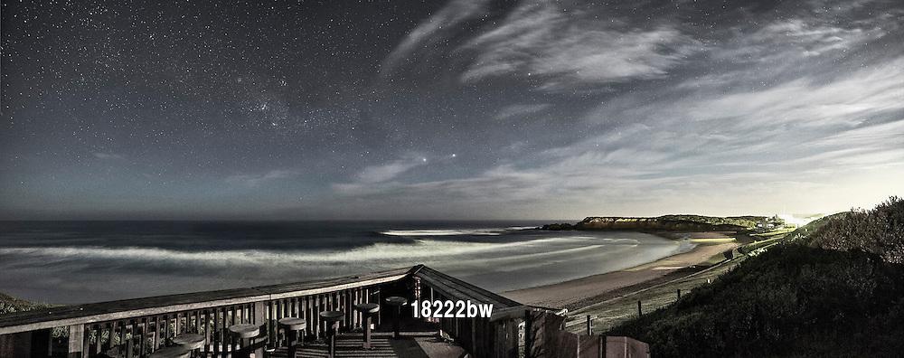 moonlight over Torquay Surf Beach