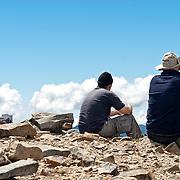 Yushan South peak's Little East peak
