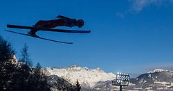 06.01.2015, Paul Ausserleitner Schanze, Bischofshofen, AUT, FIS Ski Sprung Weltcup, 63. Vierschanzentournee, Probedurchgang, im Bild Richard Freitag (GER) // Richard Freitag of Germany during Trial Jump of 63rd Four Hills Tournament of FIS Ski Jumping World Cup at the Paul Ausserleitner Schanze, Bischofshofen, Austria on 2015/01/06. EXPA Pictures © 2015, PhotoCredit: EXPA/ JFK