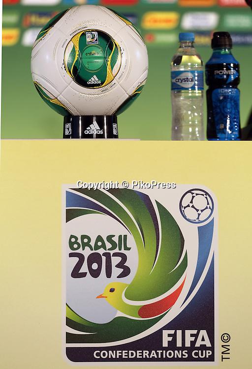 FIFA CONFEDERATIONS CUP BRAZIL 2013 - Brasilia - <br /> Estadio Nacional de Brasilia , Mane Garrincha.<br /> Brasil Head Coach  Luiz Felipe Scolari, press Conference<br /> June 14, 2013<br /> &copy; Gabriel Piko / PikoPress