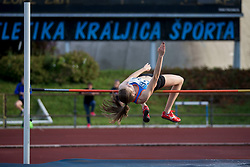 Liza Zvokelj during 13. Athletic memorial miting Matica Sustersica in Patrika Cvetana 2018, on June 27, 2018 in Stadion ZAK, Ljubljana, Slovenia. Photo by Urban Urbanc / Sportida