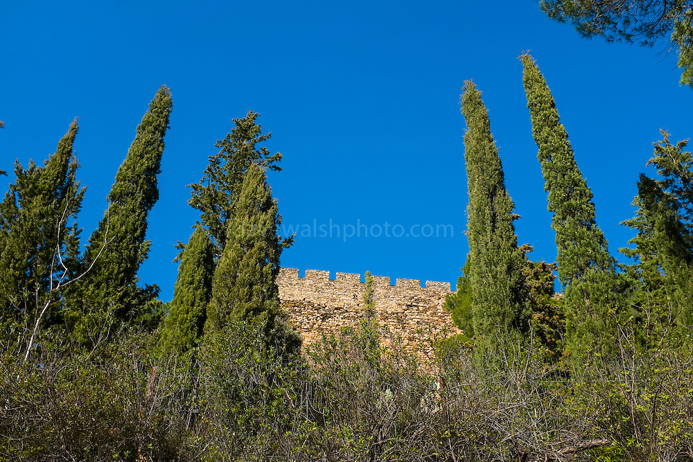 The Castle at Castelnou, Pyrenees Orientales, France
