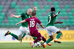 Tomislav Tomic of NK Olimpija Ljubljana during football match between NK Olimpija Ljubljana and NK Triglav Kranj in Round #31 of Prva liga Telekom Slovenije 2017/18, on May 6, 2018 in SRC Stozice, Ljubljana, Slovenia. Photo by Urban Urbanc / Sportida