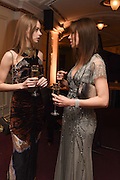 ANNA ZAHKAROV; NATALIA BONDRENKO; , The Backstage Gala in aid of the Naked Heart Foundation. Coliseum theatre. London. 17 April 2015
