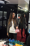 LYDIA SCOLARO, Anna Scolaro hosts a charity shopping event at  Dolce and Gabbana, 175 Sloane St. London. In aid of TeamFox.org for Parkinsons. 10 February 2016