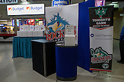 KELOWNA, CANADA - MARCH 01:  Promotions at the Kelowna Rockets game on March 01, 2017 at Prospera Place in Kelowna, British Columbia, Canada.  (Photo By Cindy Rogers/Nyasa Photography,  *** Local Caption ***