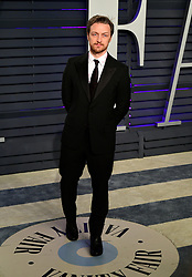 James McAvoy attending the Vanity Fair Oscar Party held at the Wallis Annenberg Center for the Performing Arts in Beverly Hills, Los Angeles, California, USA.