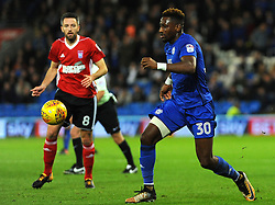 Omar Bogle of Cardiff City in action - Mandatory by-line: Nizaam Jones/JMP - 31/10/2017 -  FOOTBALL - Cardiff City Stadium- Cardiff, Wales -  Cardiff City v Ipswich  Town- Sky Bet Championship