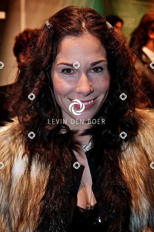 AMSTERDAM - Halina van Reijn op de premiere van de film Loft dinsdag in Amsterdam. De film is vanaf 16 december in de Nederlandse bioscopen te zien. FOTO LEVIN DEN BOER - PERSFOTO.NU
