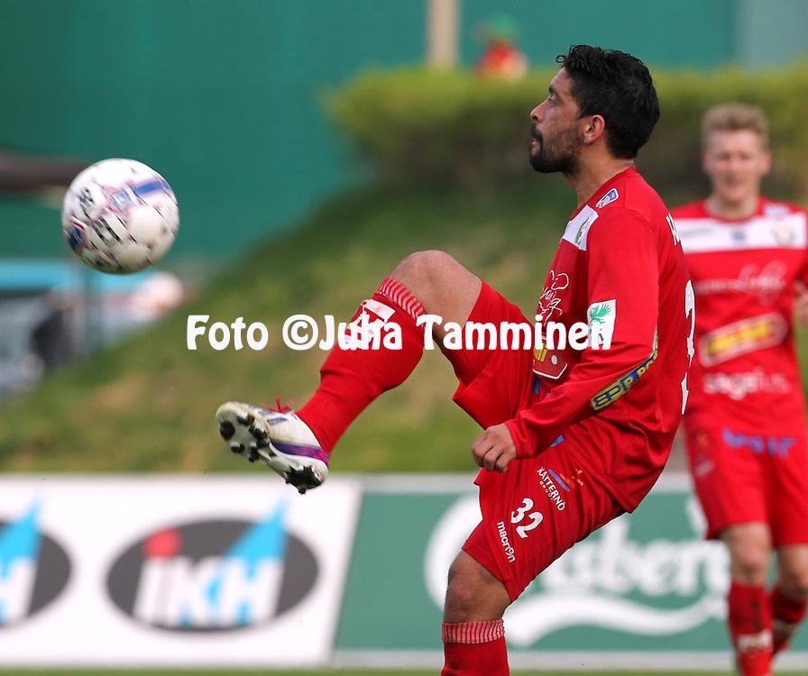 23.5.2014, Keskuskentt&auml;, Sein&auml;joki.<br /> Veikkausliiga 2014.<br /> Sein&auml;joen Jalkapallokerho - FF Jaro.<br /> Carlos Fondacaro - Jaro