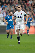 Owen Farrell (ENG) scored the first points of the game by a penalty during the NatWest 6 Nations 2018 rugby union match between France and England on March 10, 2018 at Stade de France in Saint-Denis, France - Photo Stephane Allaman / ProSportsImages / DPPI