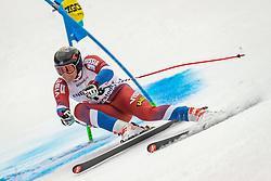 01.03.2020, Hannes Trinkl Weltcupstrecke, Hinterstoder, AUT, FIS Weltcup Ski Alpin, Alpine Kombination, Herren, Super G, im Bild Pavel Trikhichev (RUS) // Pavel Trikhichev of Russian Federation in action during his SuperG run of men's Alpine combined of FIS ski alpine world cup at the Hannes Trinkl Weltcupstrecke in Hinterstoder, Austria on 2020/03/01. EXPA Pictures © 2020, PhotoCredit: EXPA/ Johann Groder