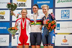 HARKOWSKA Anna, STOREY Sarah, POL, GBR, USA, Pursuit Finals , 2015 UCI Para-Cycling Track World Championships, Apeldoorn, Netherlands