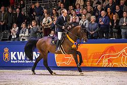Greve Willem, NED, Eldorado van de Zeshoek<br /> KWPN hengstenkeuring - 's Hertogenbosch 2020<br /> © Hippo Foto - Dirk Caremans<br /> 30/01/2020