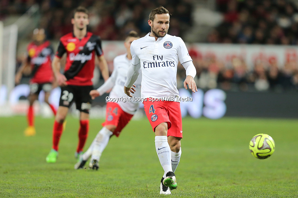Yohan CABAYE - 14.12.2014 - Guingamp / Paris Saint Germain - 18eme journee de Ligue 1<br />