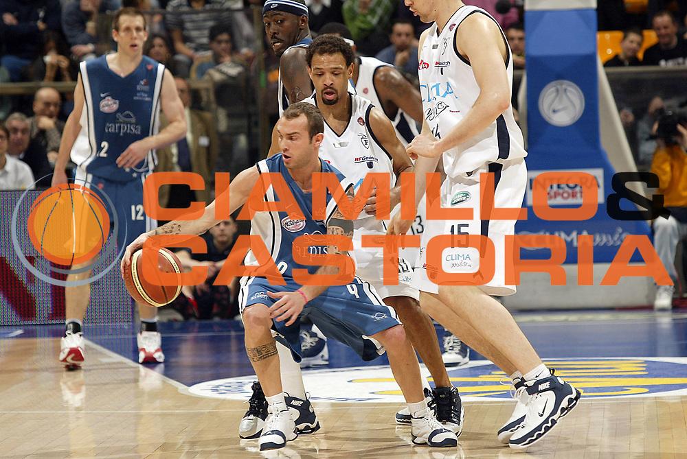 DESCRIZIONE : Bologna Lega A1 2005-06 Climamio Fortitudo Bologna Carpisa Napoli<br /> GIOCATORE : Spinelli<br /> SQUADRA : Carpisa Napoli <br /> EVENTO : Campionato Lega A1 2005-2006<br /> GARA : Climamio Fortitudo Bologna Carpisa Napoli<br /> DATA : 05/03/2006<br /> CATEGORIA : Palleggio<br /> SPORT : Pallacanestro<br /> AUTORE : Agenzia Ciamillo-Castoria/E.Pozzo